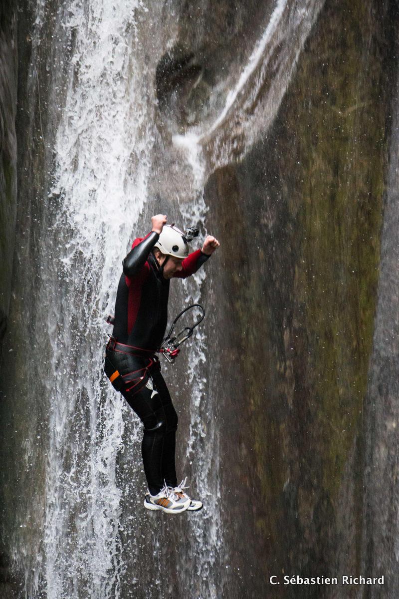 Capture au saut de 7m du Versoud