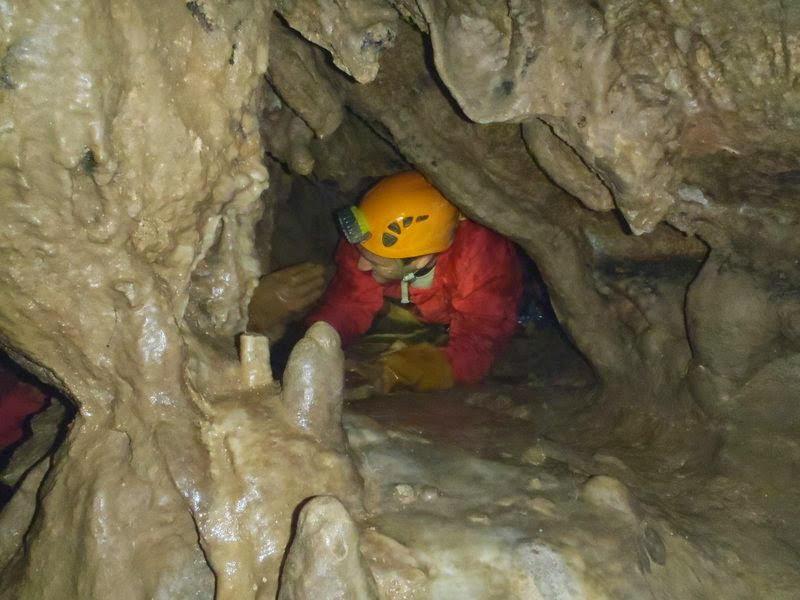 Grotte les cuves de Sassenage, un grand réseau propice aux rampings
