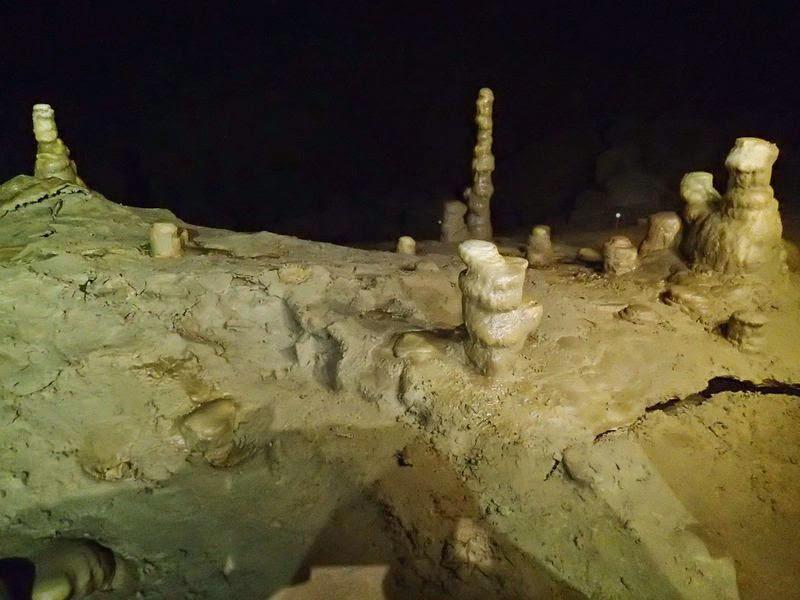 Paysages figés formés en quelques milliers d'années!