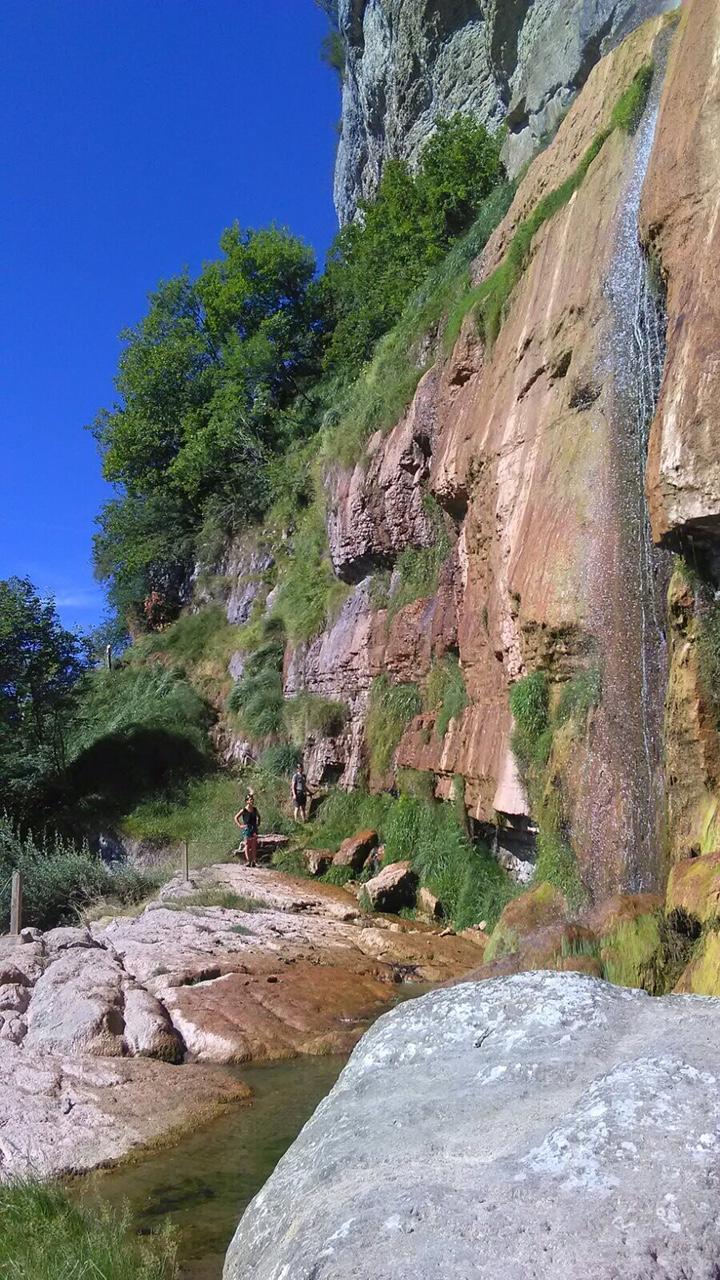 La cascade de l'Oule.
