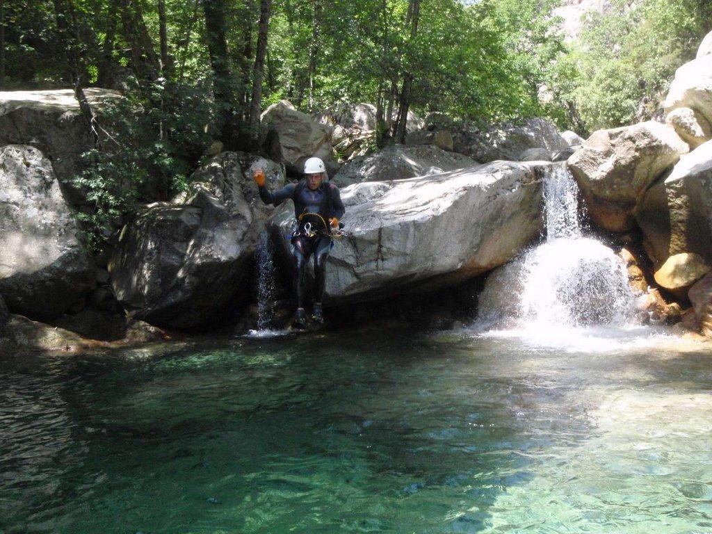 Une qualité de l'eau exeptionnelle au milieu des Pins de Bavella.