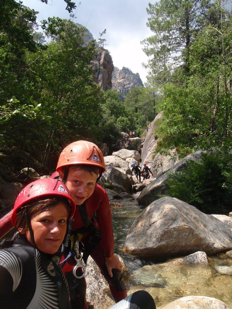 L'entrée dans le Canyon.