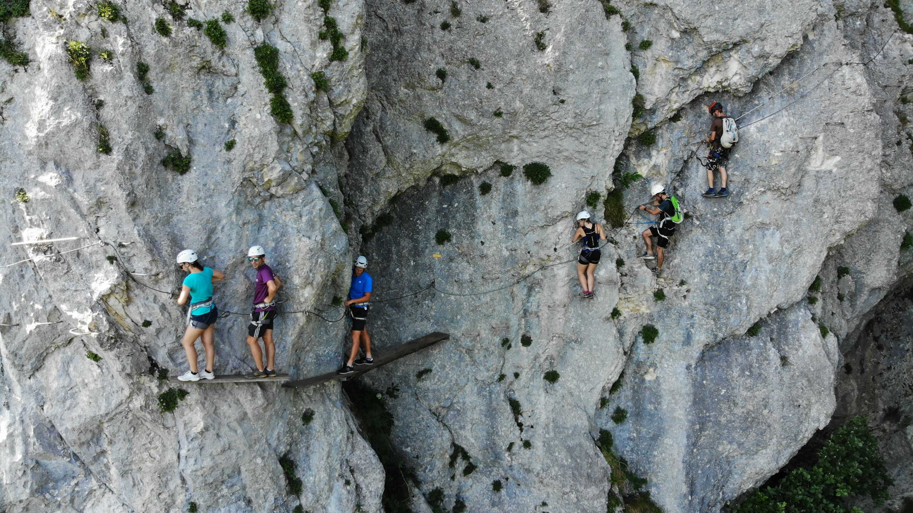 Via ferrata de Roc cornillon
