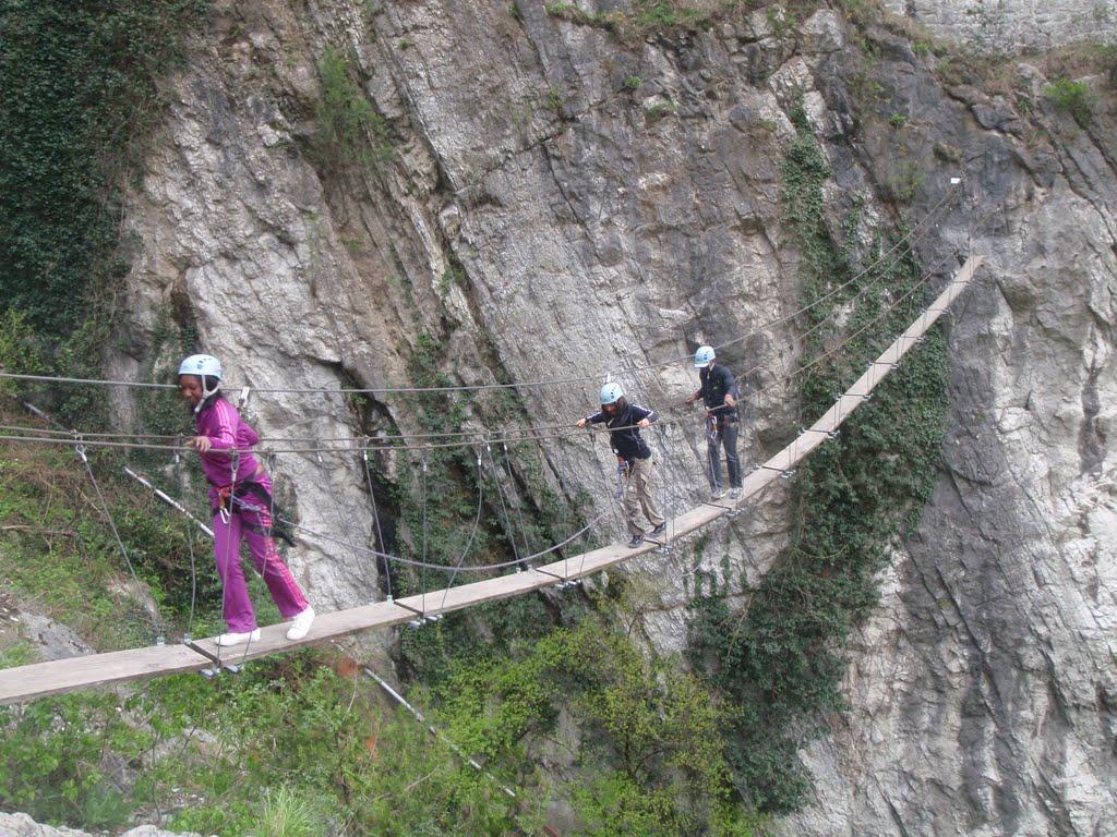 Die große nepalesische Brücke