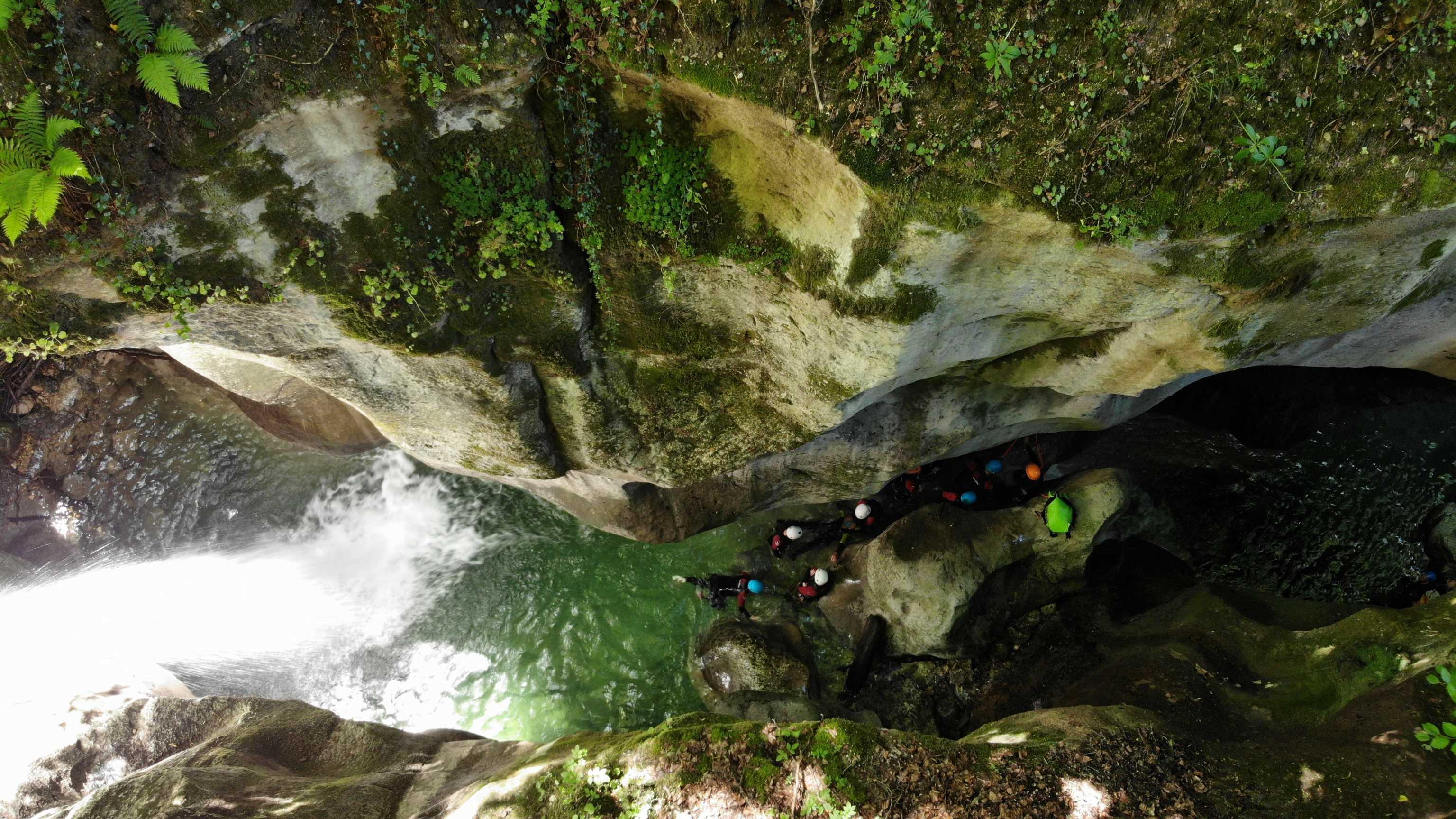 Encaissement du canyon du Furon