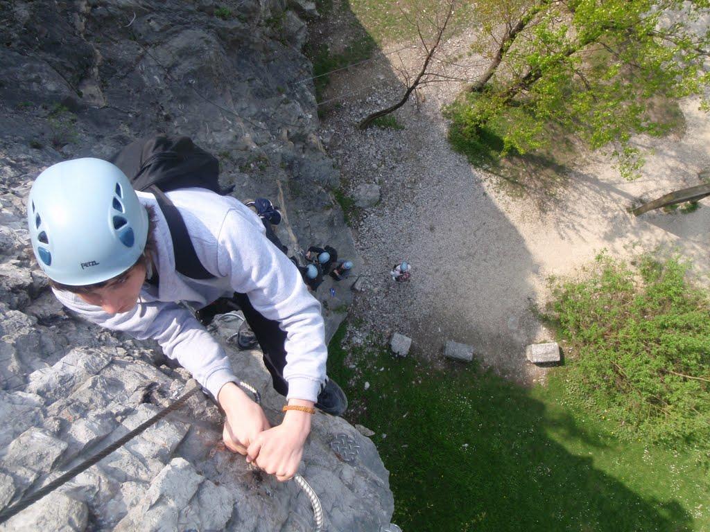 La première montée verticale