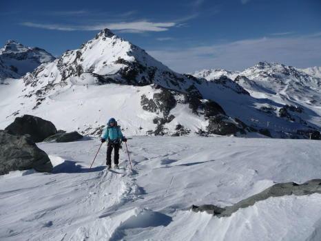 Départ du Col de Val Thorens - 3100m