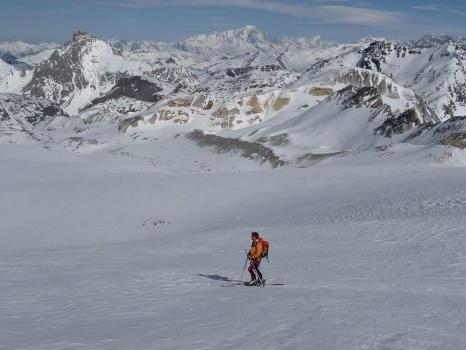 Vue du Col de Gébroulaz - 3400m