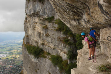 Pack Via ferrata Crolles + Vol Prestige