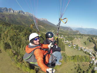 Vol parapente Pack Duo Sensation