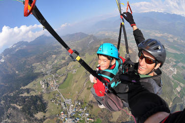 Vol parapente Pack Duo Contact