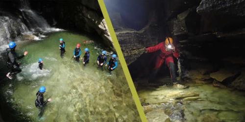 Canyon du furon bas + Spéléo cuves de sassenage