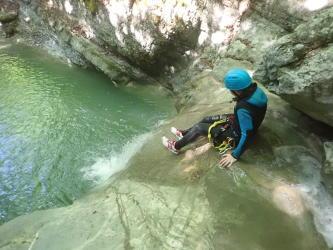 Canyon Angon découverte